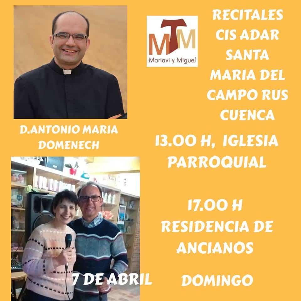 Cis Adar en concierto en Santa María del Campo Rus 1