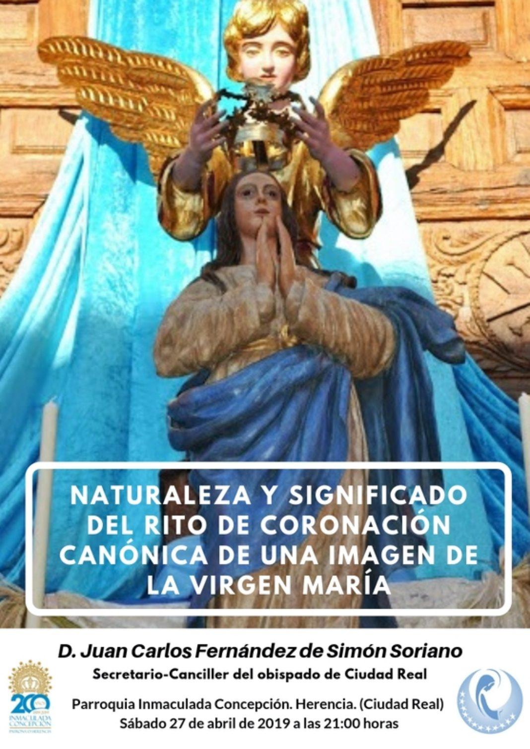 Conferencia coronación de la Virgen 1068x1510 - El secretario-canciller del obispado dará una conferencia sobre la coronación canónica de una imagen de la Virgen María