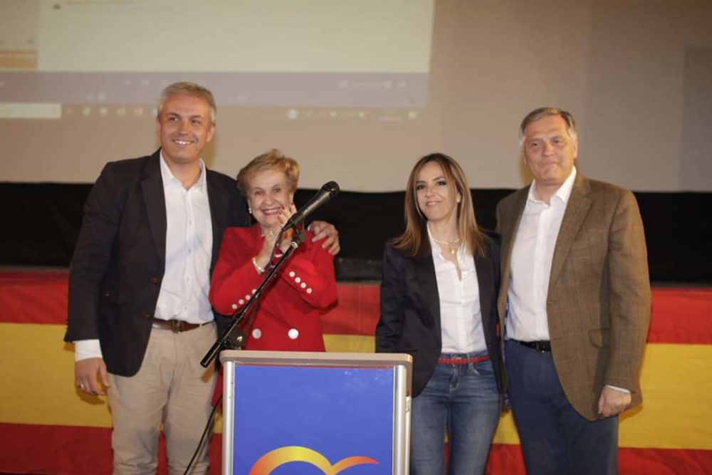Cristina Rodríguez de Tembleque presenta su candidatura a la Alcaldía de Herencia 1