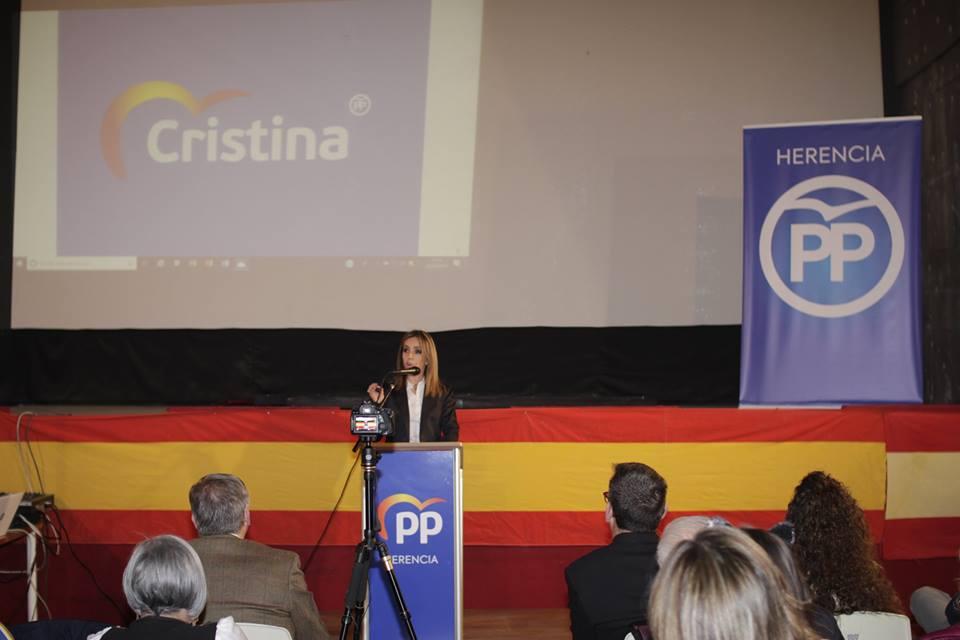 Cristina Rodríguez de Tembleque presenta su candidatura a la Alcaldía de Herencia01 - Cristina Rodríguez de Tembleque presenta su candidatura a la Alcaldía de Herencia
