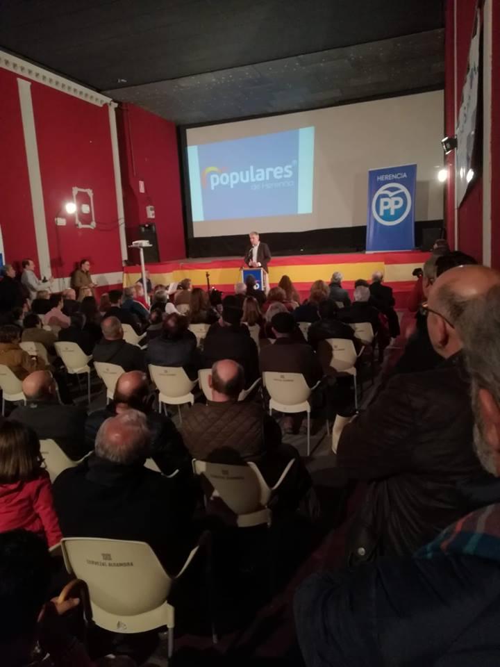 Cristina Rodríguez de Tembleque presenta su candidatura a la Alcaldía de Herencia 4