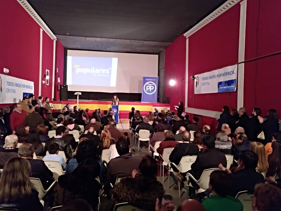 Cristina Rodríguez de Tembleque presenta su candidatura a la Alcaldía de Herencia 13
