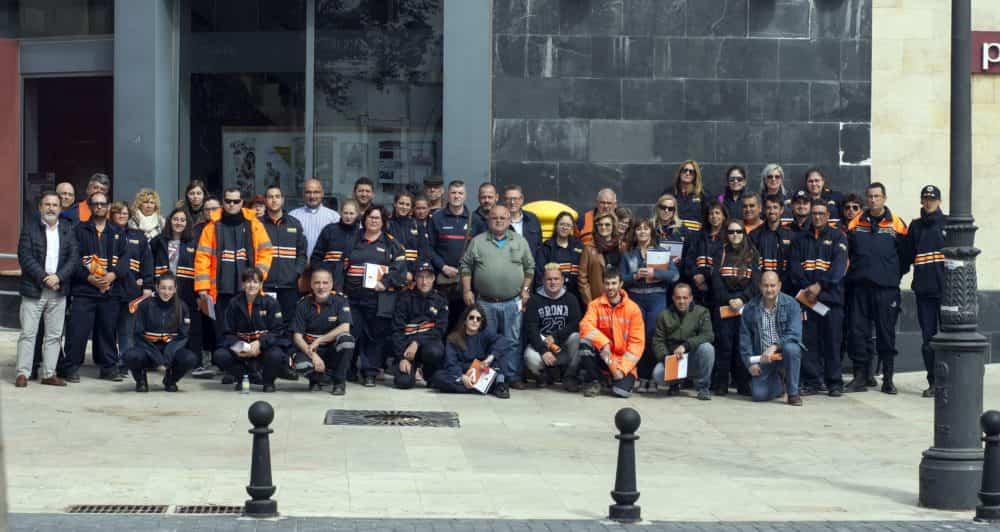 60 alumnos participan en la XVII edición del curso básico de formación para voluntarios de Protección Civil