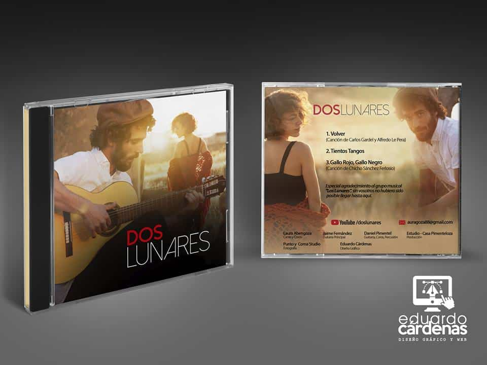 Dos Lunares - Dos Lunares graba su primer material discográfico y videoclip en Méjico