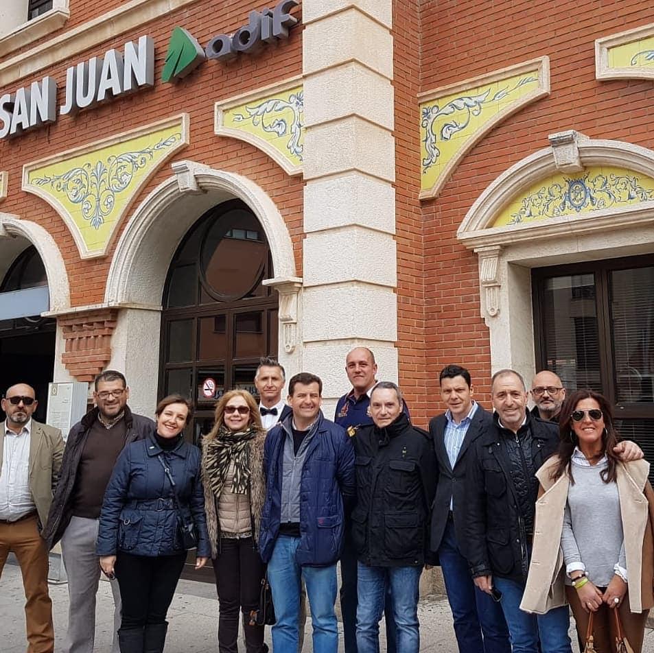 Encuentro de Vox con los candidatos en Tomelloso tras la visita a Herencia y Alcázar de San Juan 2
