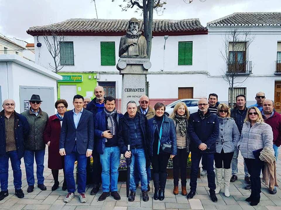 Encuentro de VOx en Herencia - Encuentro de Vox con los candidatos en Tomelloso tras la visita a Herencia y Alcázar de San Juan
