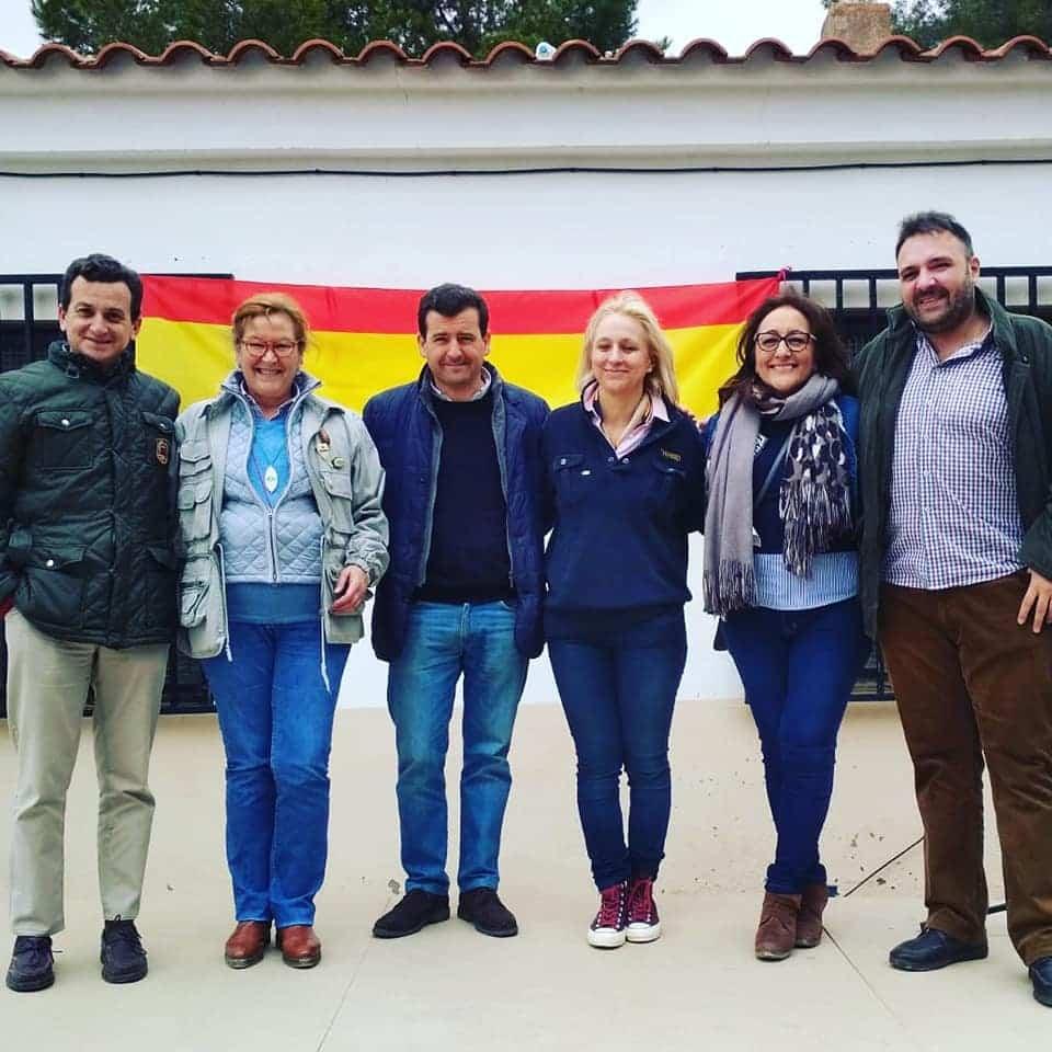 Encuentro de VOx en Tomelloso - Encuentro de Vox con los candidatos en Tomelloso tras la visita a Herencia y Alcázar de San Juan
