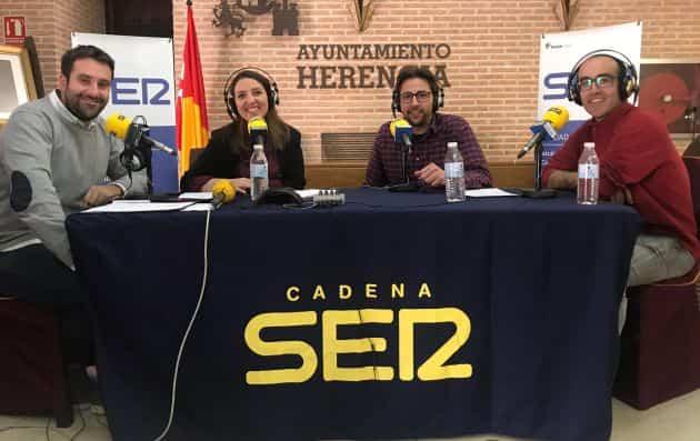 Especia hoy por hoy cadena ser sobre la Semana Santa de Herencia3 - Hoy por Hoy Provincia de Ciudad Real realizó un especial sobre la Semana Santa de Herencia