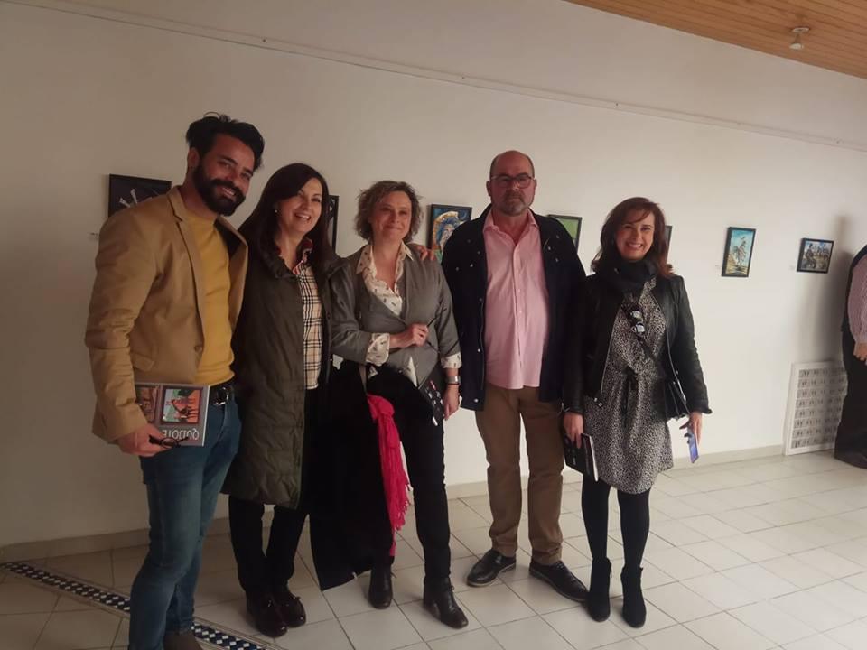 José Raúl Ramírez participa en la exposición internacional Sancho el Quijote y Quijote el Sancho 1