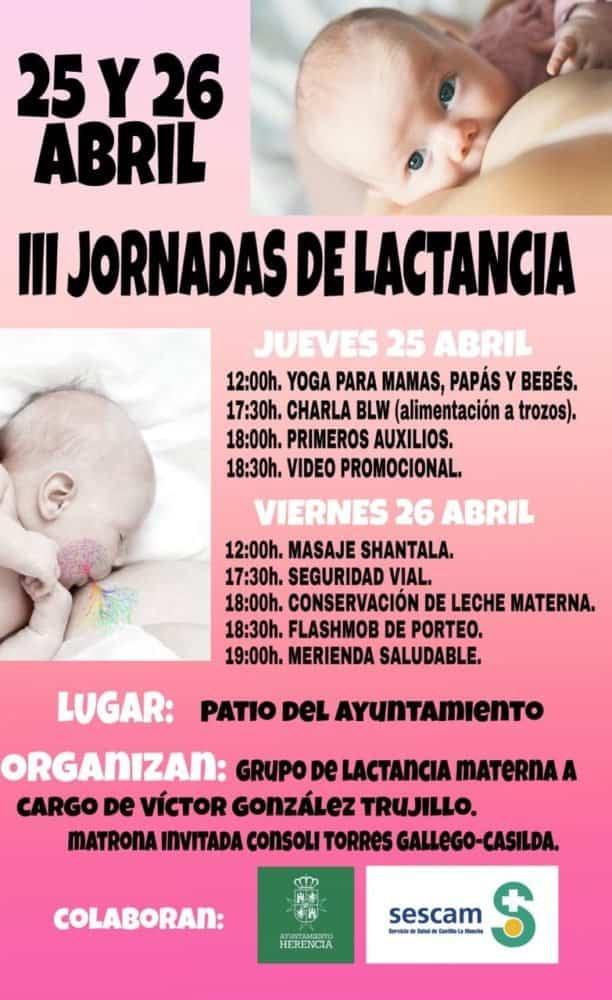 III Jornadas de Lactancia en HErencia 612x1000 - Terceras jornadas de lactancia en Herencia
