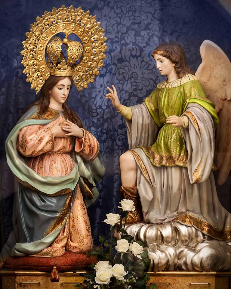 Imagen de Ntra Señora de la Encarnación de Herencia - Celebraciones religiosas en la parroquia y el convento con motivo del Día de la Madre