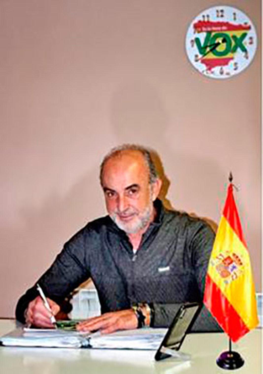 Jose antonio Rodríguez candidato de Vox por Herencia 1068x1515 - José Antonio Rodríguez de Tembleque es el candidato de VOX a la Alcaldía de Herencia