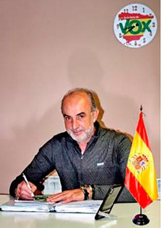 Jose antonio Rodr%C3%ADguez candidato de Vox por Herencia - José Antonio Rodríguez de Tembleque es el candidato de VOX a la Alcaldía de Herencia