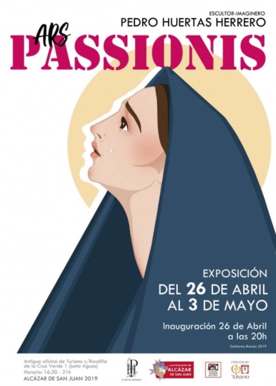 Pedro Huertas Herrero Ars Passionis 1068x1494 - Una exposición en Alcázar recoge la obra de Pedro Huertas Herrero