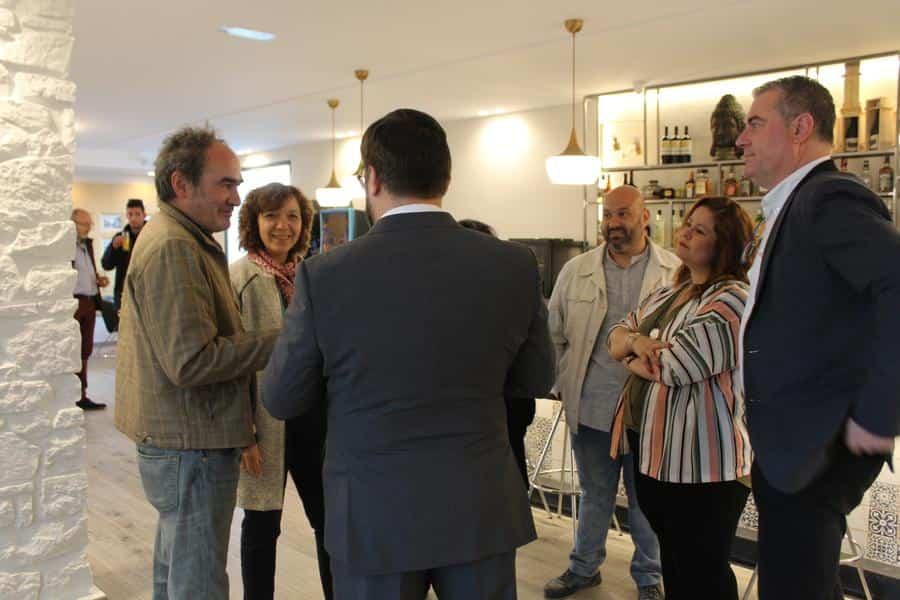 Pedro Lozano reabre el restaurante del hotel Barataria3 - Pedro Lozano y Rosa Gallego reabren el restaurante del hotel Barataria en Alcázar de San Juan
