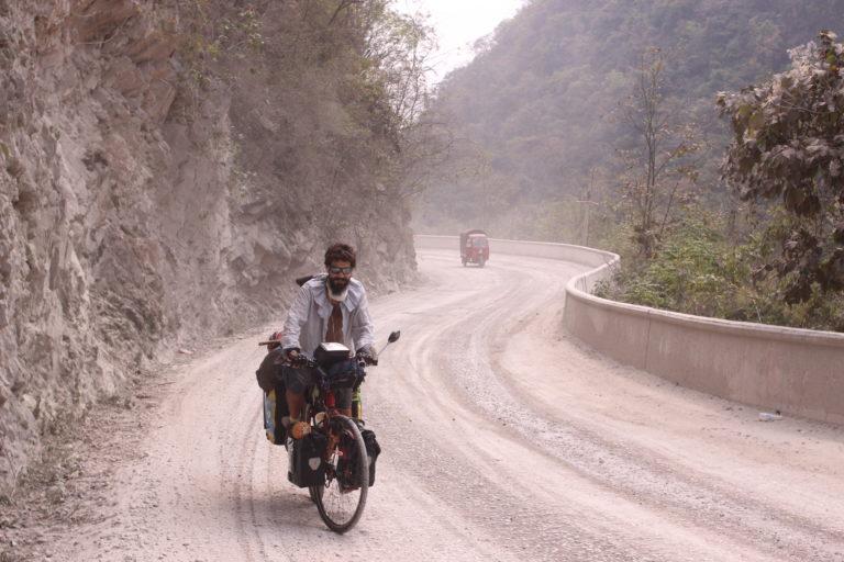 Perlé atravesando China hacia el Tíbet 14