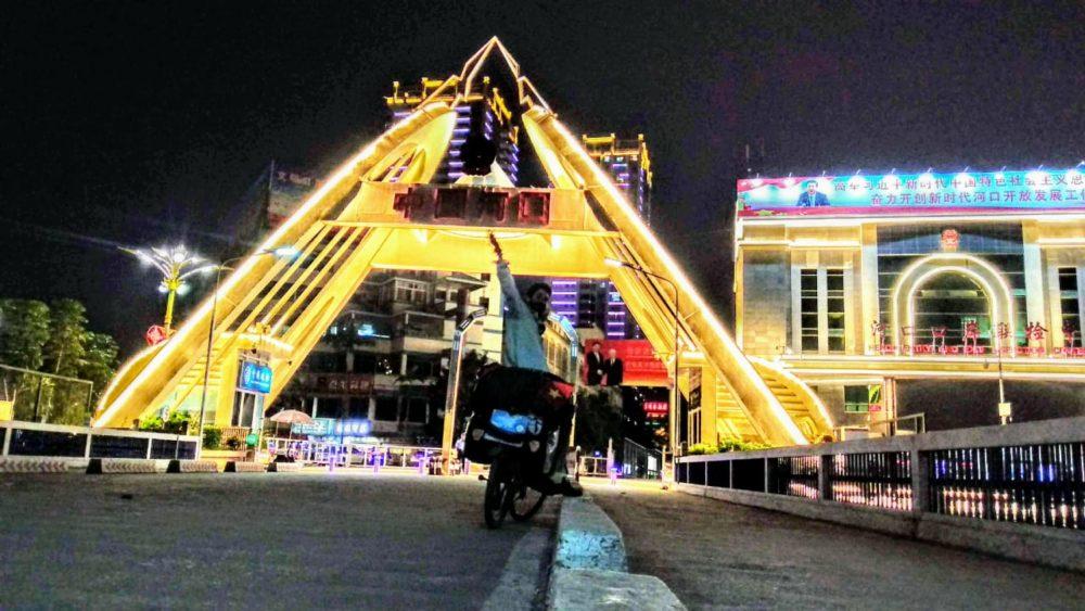 Perlé atravesando China hacia el Tíbet 3
