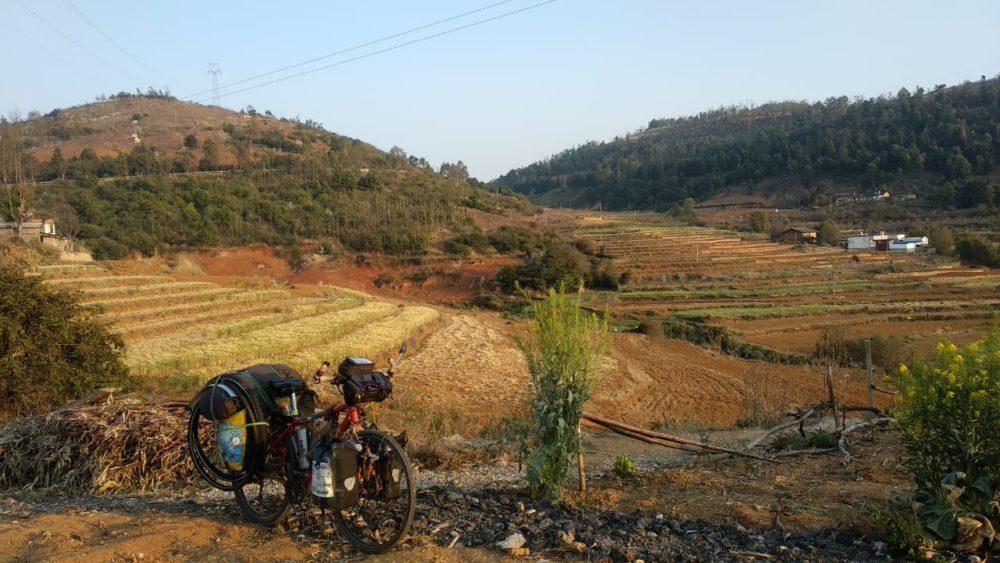 Perlé atravesando China hacia el Tíbet 60