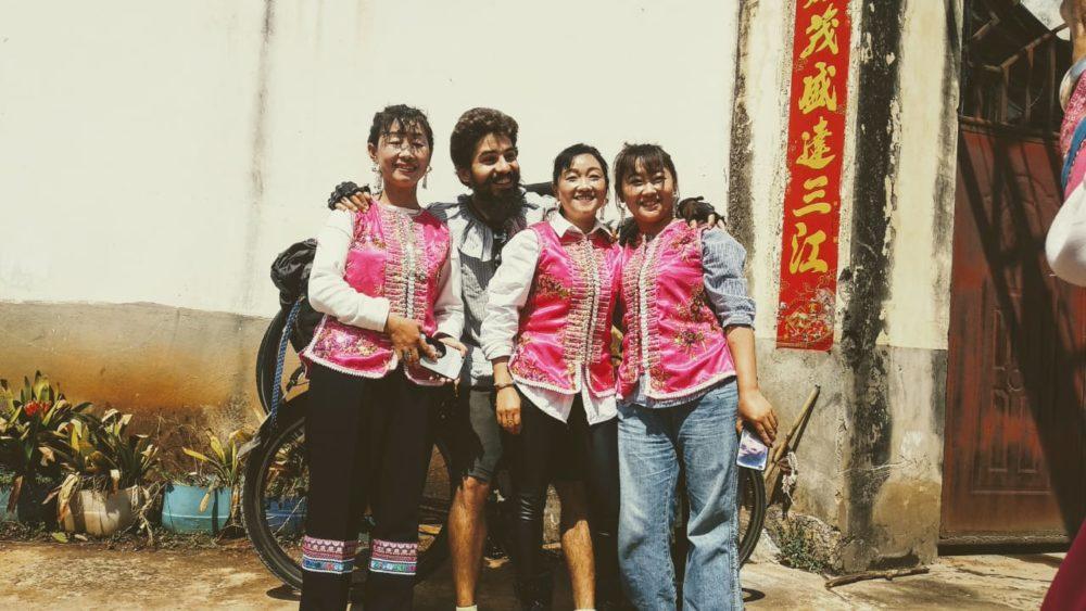 Perlé atravesando China hacia el Tíbet 13