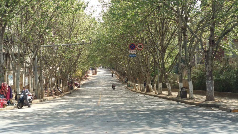 Perlé atravesando China hacia el Tíbet 55