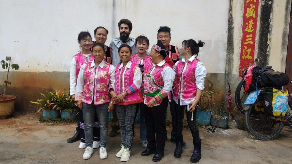 Perlé atravesando China hacia el Tíbet 12