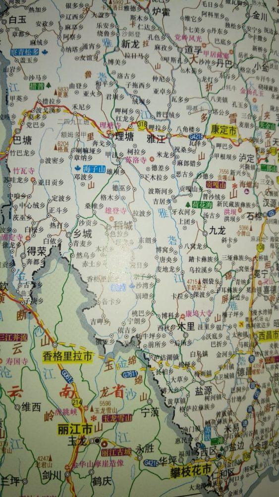 Perlé atravesando China hacia el Tíbet 5
