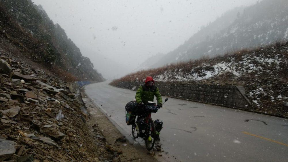 Perlé atravesando China hacia el Tíbet 21