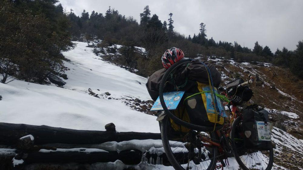 Perlé atravesando China hacia el Tíbet 23