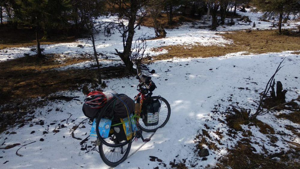 Perlé atravesando China hacia el Tíbet 25