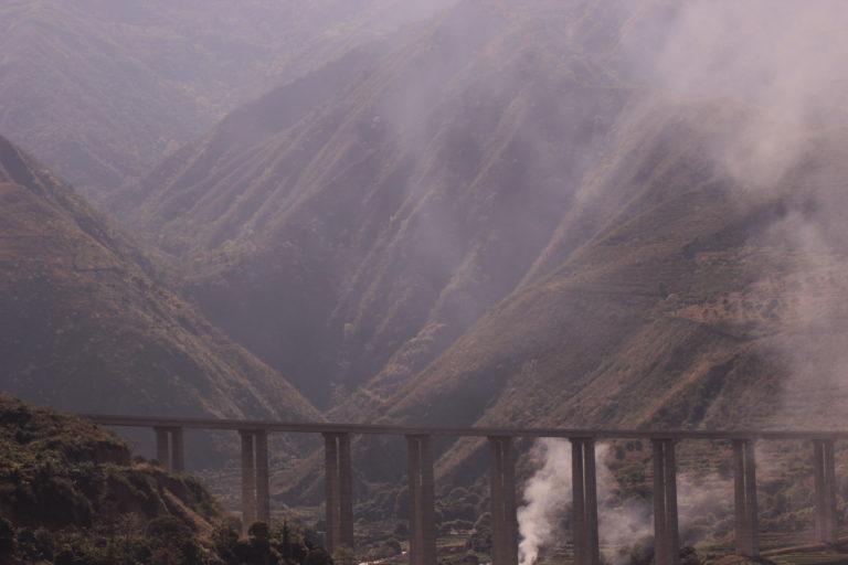 Perlé atravesando China hacia el Tíbet 33