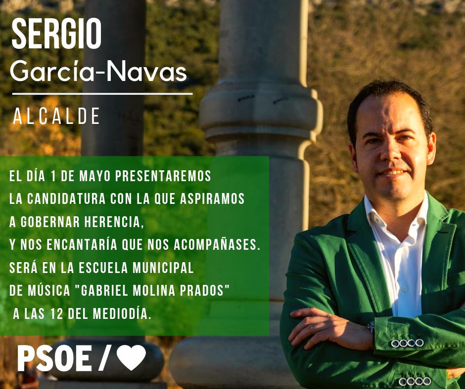 Presentación oficial candidatora del psoe a la alcaldía de Herencia - Presentación oficial de la candidatura del Psoe a la alcaldía de Herencia