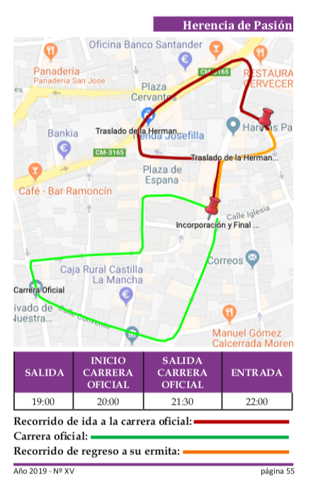 Procesión del Calvario itinerario - Recorrido y horarios de la procesión del Calvario