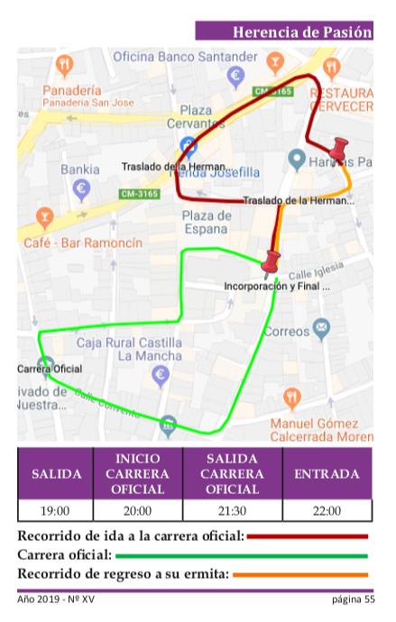 Procesi%C3%B3n del Calvario itinerario - Recorrido y horarios de la procesión del Calvario
