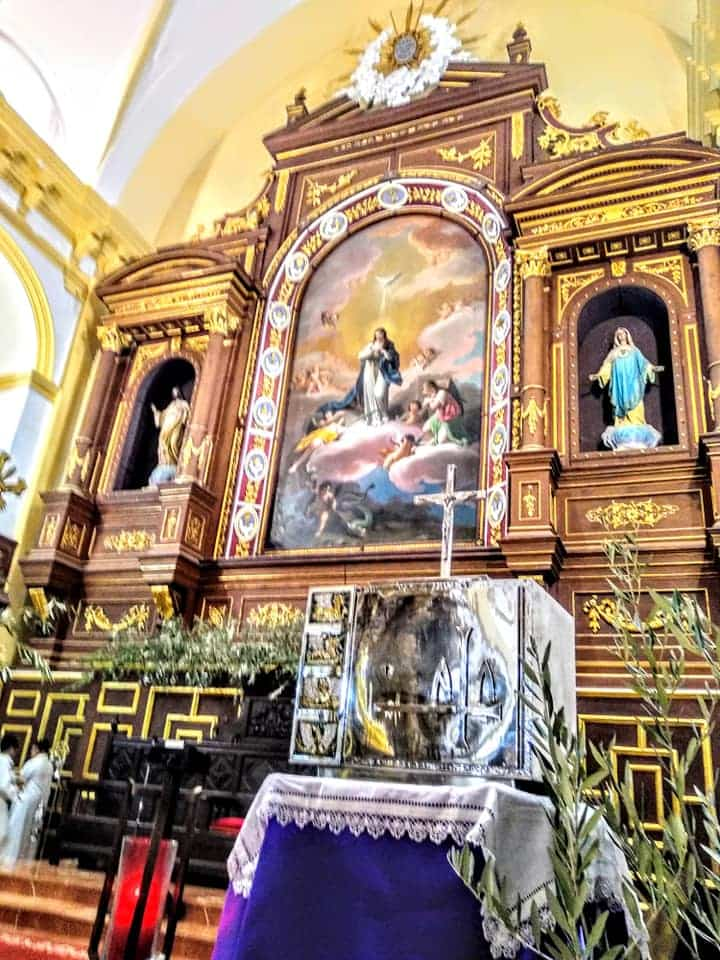 Procesion de la Borriquilla del Domingo de Ramos en Herencia Foto Facebook Parroquia de Herencia17 1 - Buen tiempo y devoción, en la celebración del Domingo de Ramos