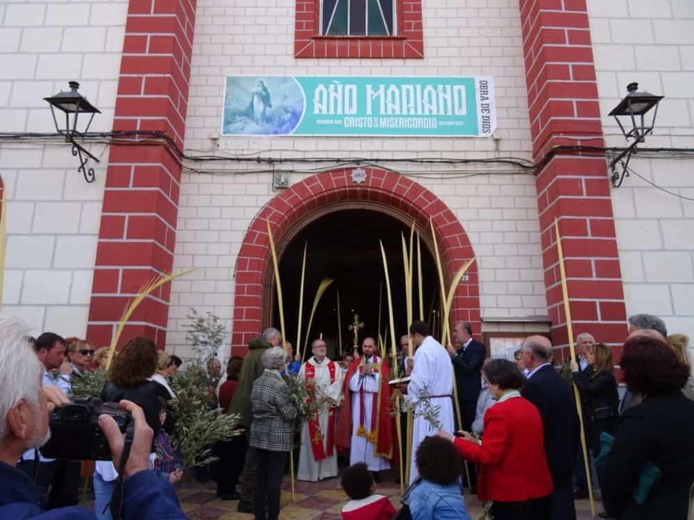 Buen tiempo y devoción, en la celebración del Domingo de Ramos 3
