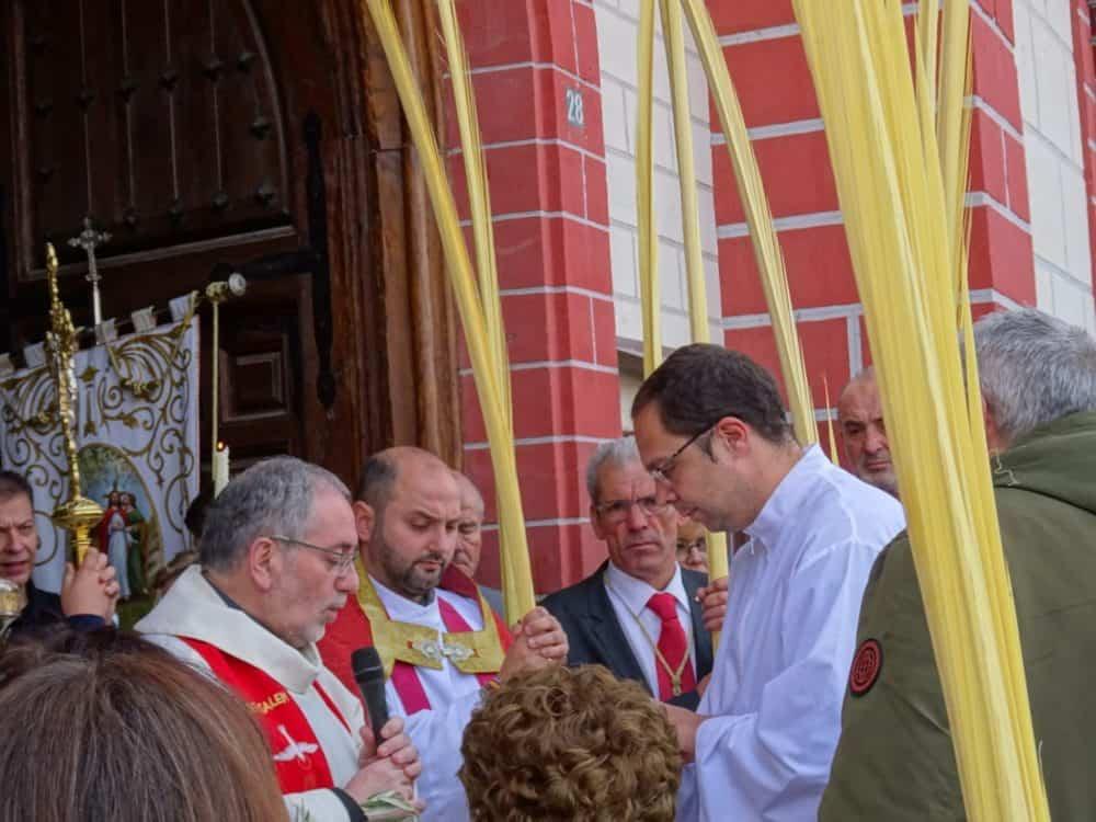 Buen tiempo y devoción, en la celebración del Domingo de Ramos 4