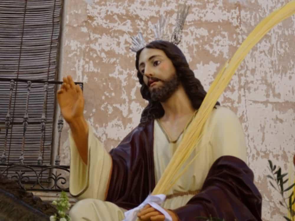 Procesion de la Borriquilla del Domingo de Ramos en Herencia Foto Mari Carmen Fdez Caballero02 1000x750 - Buen tiempo y devoción, en la celebración del Domingo de Ramos
