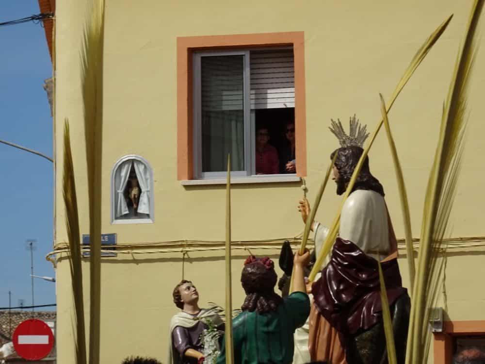 Buen tiempo y devoción, en la celebración del Domingo de Ramos 10