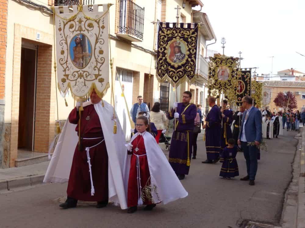 Procesion de la Borriquilla del Domingo de Ramos en Herencia Foto Mari Carmen Fdez Caballero08 1000x750 - Buen tiempo y devoción, en la celebración del Domingo de Ramos