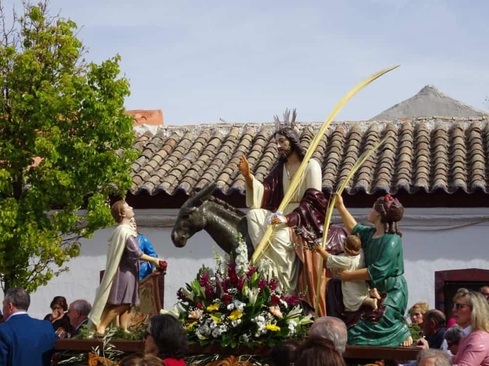Buen tiempo y devoción, en la celebración del Domingo de Ramos 14