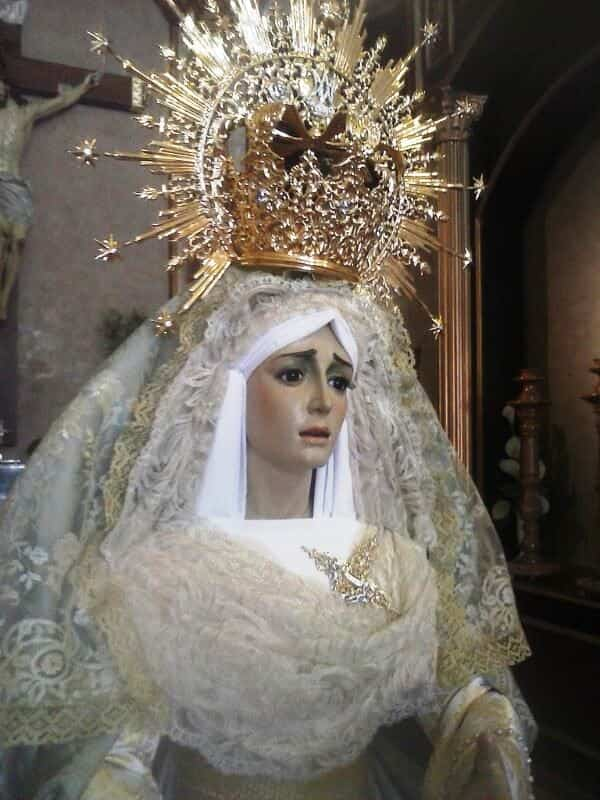 SOLEDAD - La imaginería de la Semana Santa en Herencia