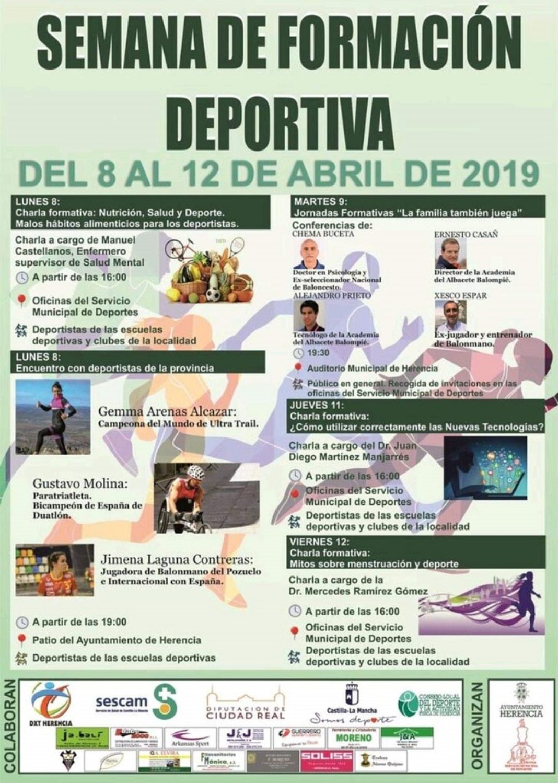 Semana del deporte en Herencia 1068x1498 - Herencia organiza una semana de formación deportiva