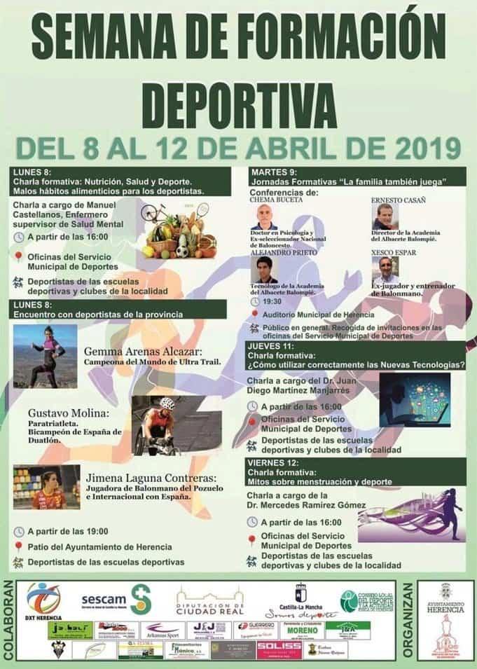 Semana del deporte en Herencia - Herencia organiza una semana de formación deportiva