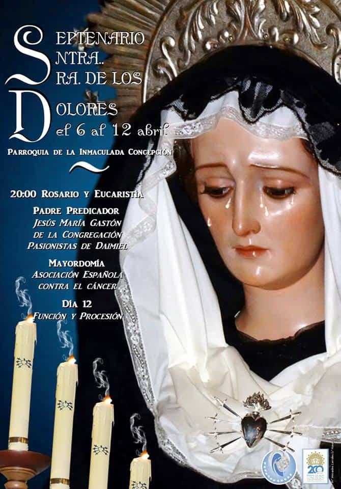 Septenario y procesión de la Virgen de los Dolores 1