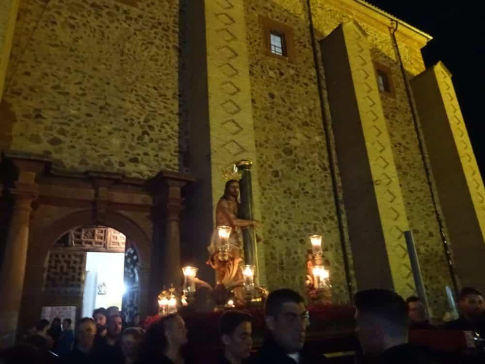 Via Crucis Penitencial con el Cristo de la Columna14 1000x750 - Imágenes del Vía Crucis Penitencial del Miércoles Santo