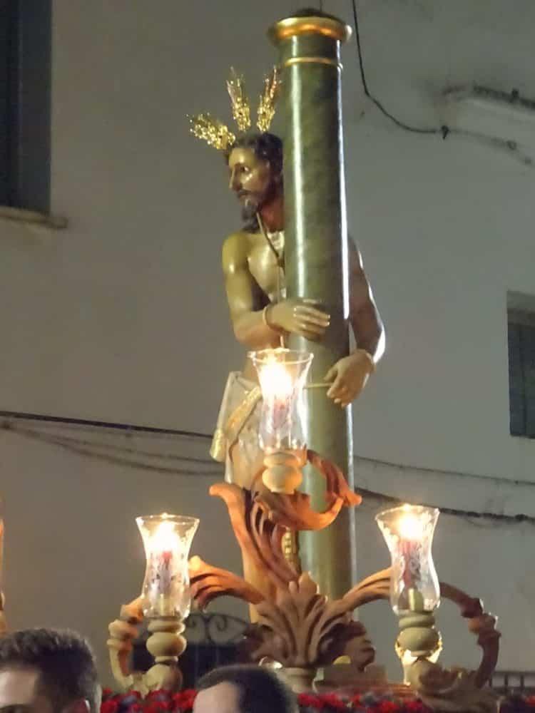 Via Crucis Penitencial con el Cristo de la Columna6 750x1000 - Imágenes del Vía Crucis Penitencial del Miércoles Santo