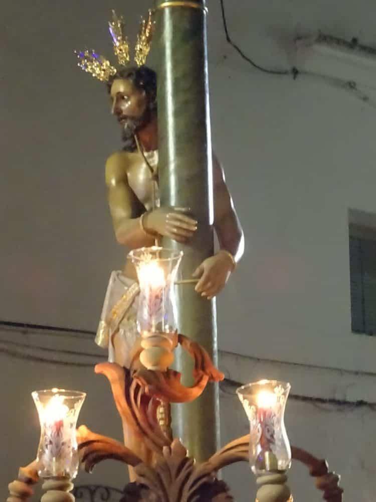 Via Crucis Penitencial con el Cristo de la Columna7 750x1000 - Imágenes del Vía Crucis Penitencial del Miércoles Santo