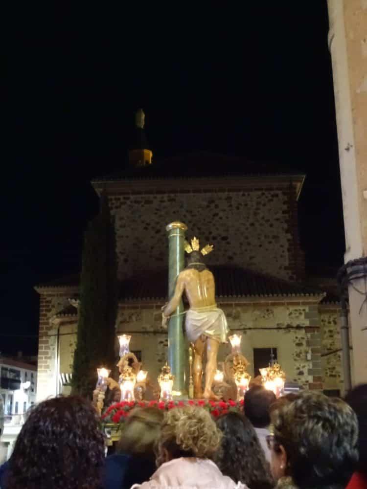 Via Crucis Penitencial con el Cristo de la Columna9 750x1000 - Imágenes del Vía Crucis Penitencial del Miércoles Santo