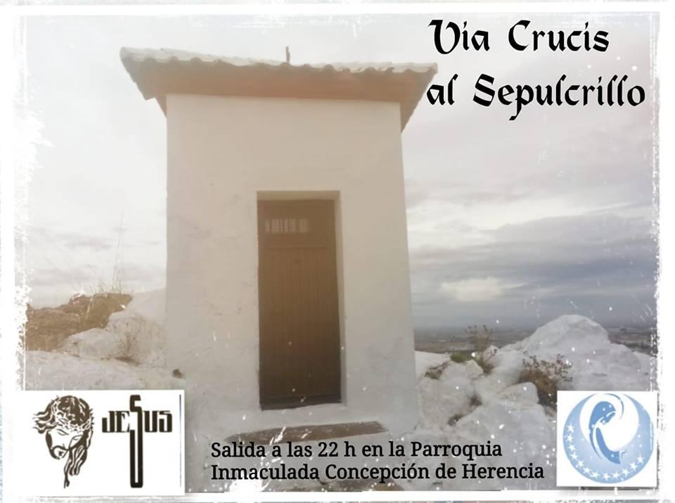Via Crucis de jóvenes - Celebraciones de Semana Santa en la iglesia parroquial de la Inmaculada