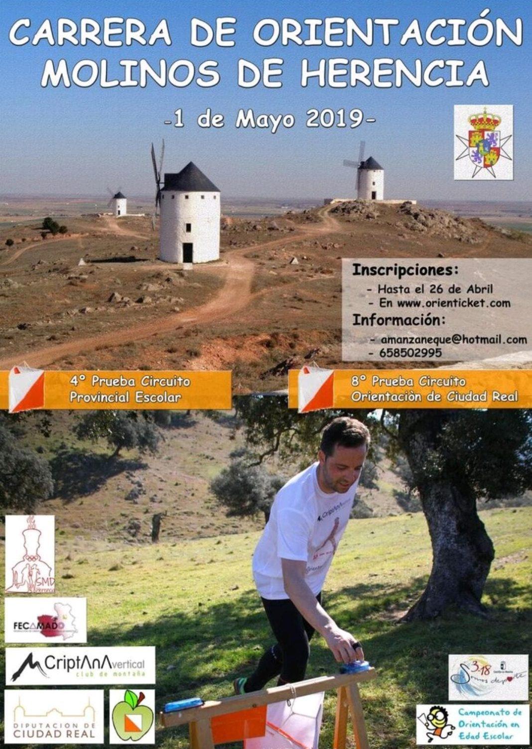 carrera orientacion herencia mayo 2019 1068x1504 - Carrera de Orientación Molinos de Herencia el 1 de mayo